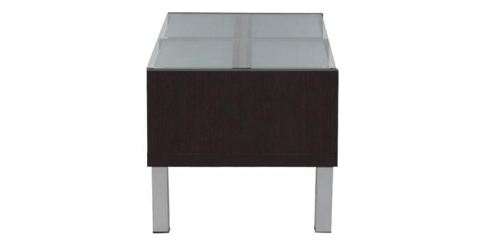 Swiss โต๊ะกลาง สีเวงเก้ ขนาด 80 ซ.ม. สไตล์คอนเทมโพรารี