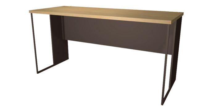 Able โต๊ะทำงาน สีเมเปิ้ล ขนาด 150 ซ.ม. สไตล์โมเดิร์น