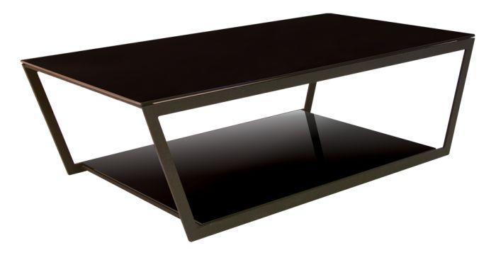 Jackson โต๊ะกลาง สีดำ ขนาด 120 ซ.ม. สไตล์โมเดิร์น