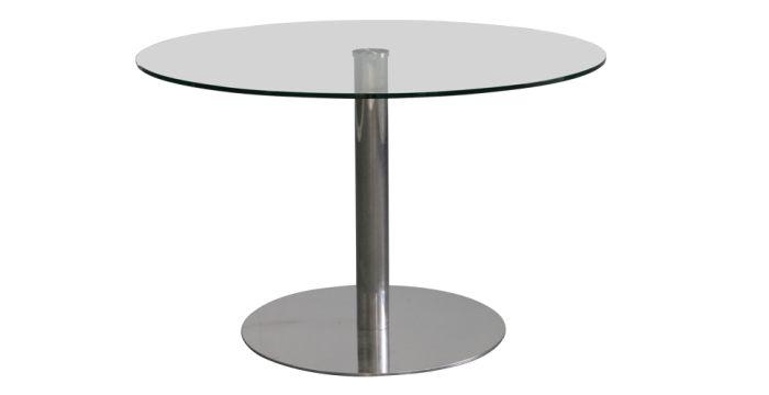 Yoka โต๊ะทานอาหาร สีสแตนเลส ขนาด 120 ซ.ม. สไตล์โมเดิร์น