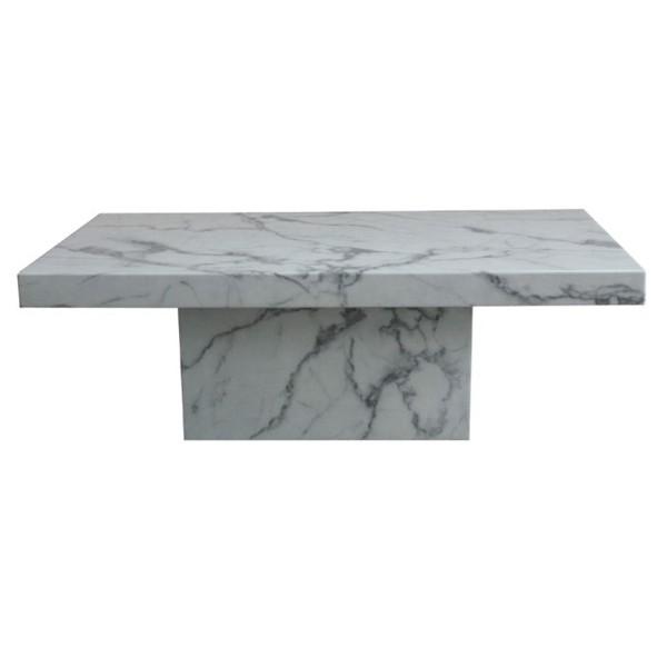 โต๊ะกลางไม้ท๊อปหิน