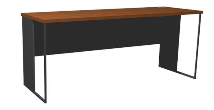 Able โต๊ะทำงาน สีเทา ขนาด 180 ซ.ม. สไตล์โมเดิร์น