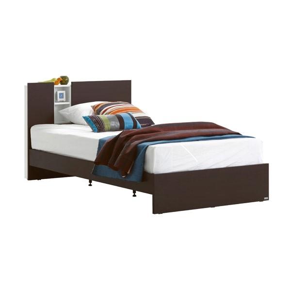 Tyler เตียง 3.5 ฟุต สีเวงเก้ สไตล์คอนเทมโพรารี