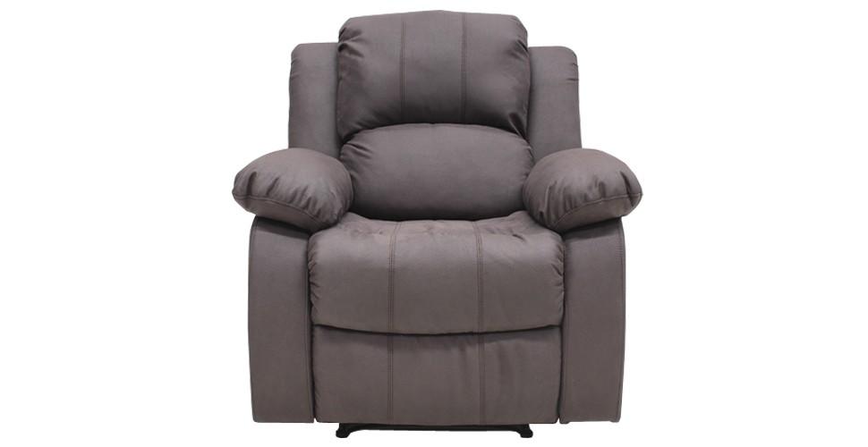 Zelda เก้าอี้พักผ่อนผ้า สีน้ำตาล ขนาด 93 ซ.ม. สไตล์โมเดิร์น