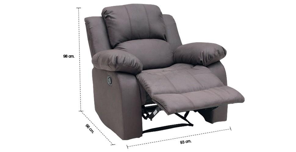 เก้าอี้พักผ่อนผ้า 1 ที่นั่ง รุ่น Zelda