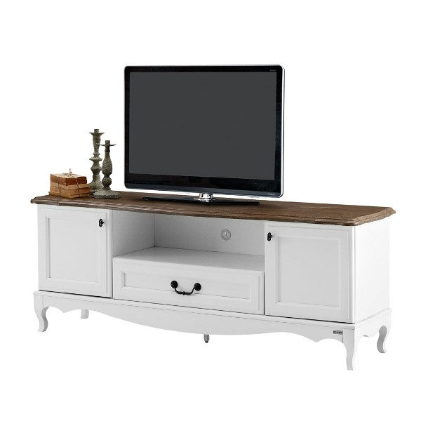 Kleez ชุดวางทีวี สีขาว ขนาด 160 ซ.ม.