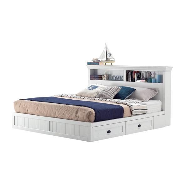 เตียง ขนาด 6 ฟุต รุ่น Mahony