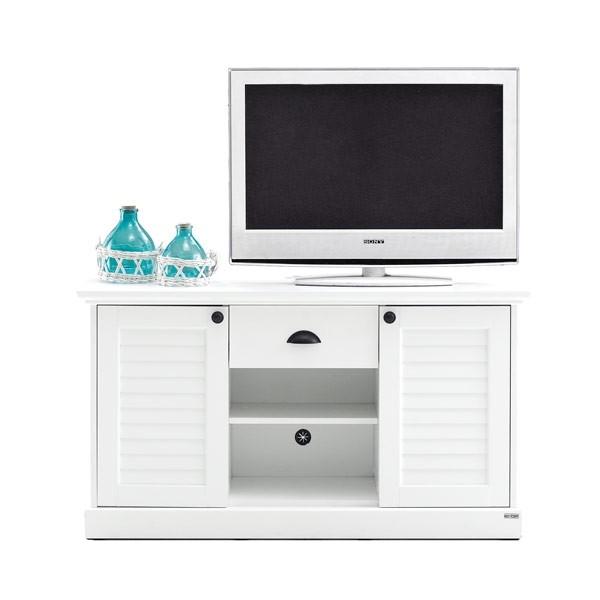 Mahony ชุดวางทีวี สีขาว ขนาด 120 ซ.ม. สไตล์คอนเทมโพรารี