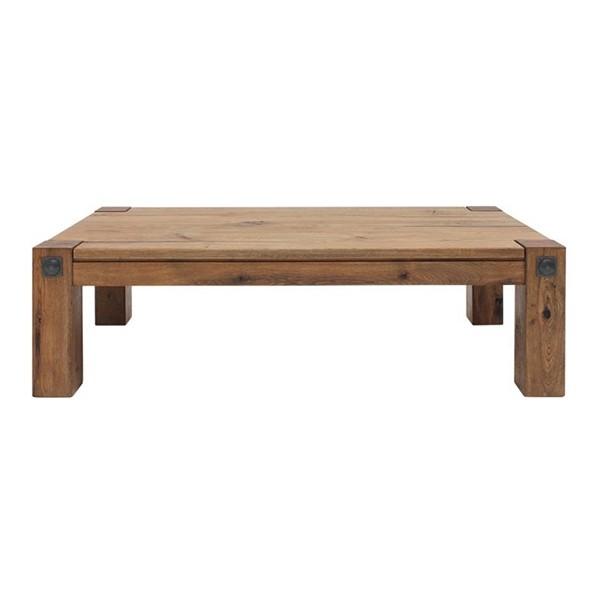 โต๊ะกลางไม้ล้วน