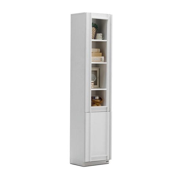 Lybrary ตู้เก็บของ สีขาว ขนาด 40 ซ.ม. สไตล์คอนเทมโพรารี