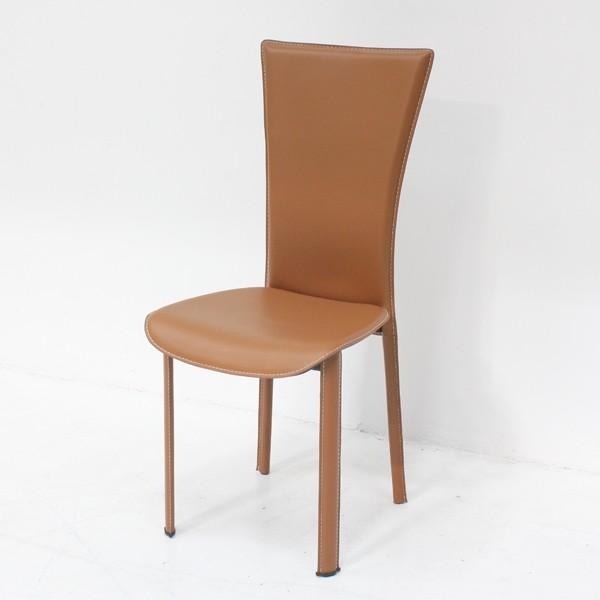 เก้าอี้ทานอาหาร เหล็กเบาะหนัง รุ่น Yindee