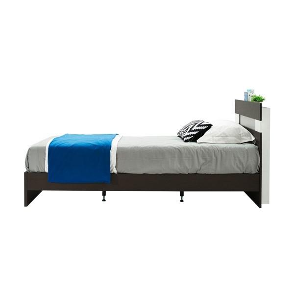Harper เตียง 6 ฟุต สีเวงเก้ สไตล์โมเดิร์น