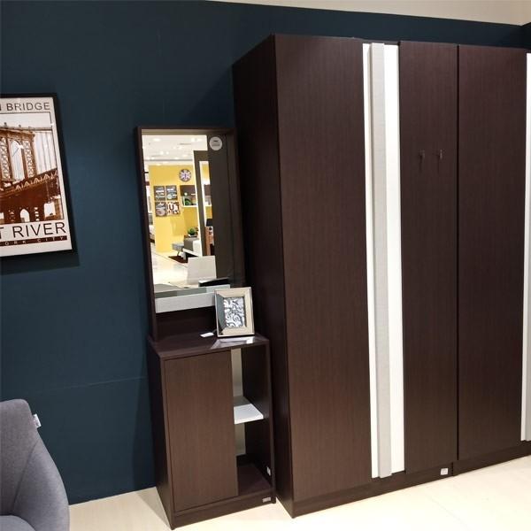 ตู้เสื้อผ้าบานเปิด ขนาด 90 ซม.  รุ่น Lepino