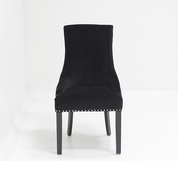 เก้าอี้ไม้เบาะผ้า