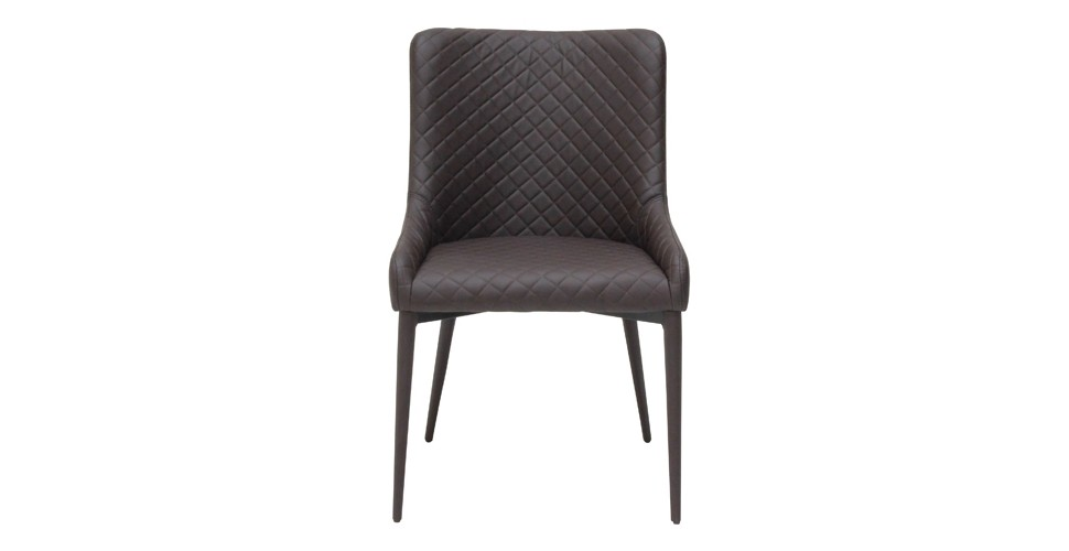 Yaw Modern Brown Dining Chair 1 Cm. Wide