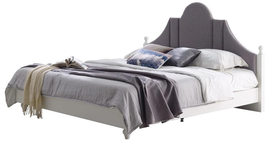 Pheona เตียง 5 ฟุต สีขาว