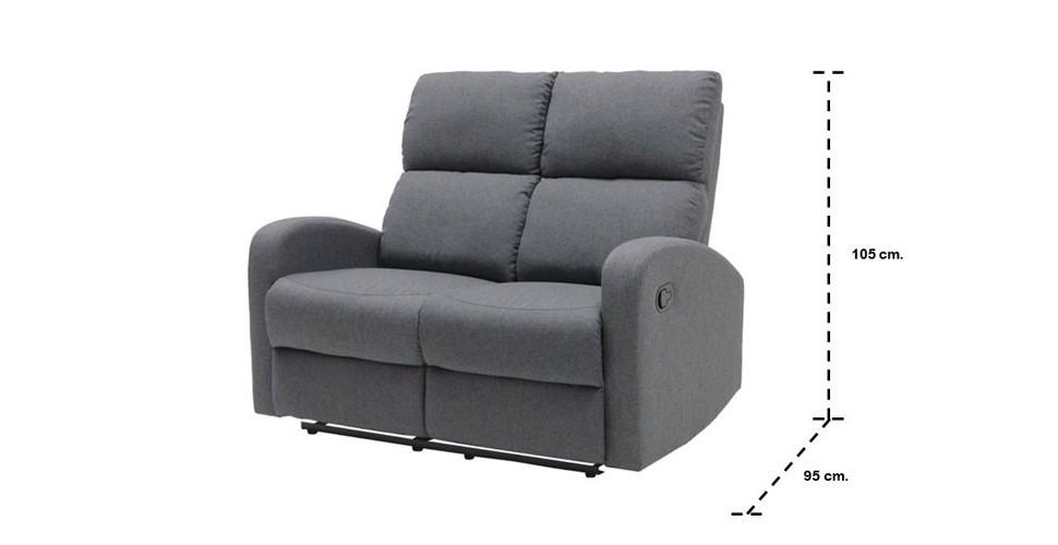 Zixar เก้าอี้พักผ่อนผ้า ขนาด 132 ซ.ม.