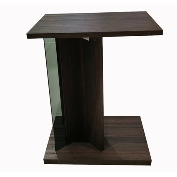 โต๊ะข้างไม้ล้วน