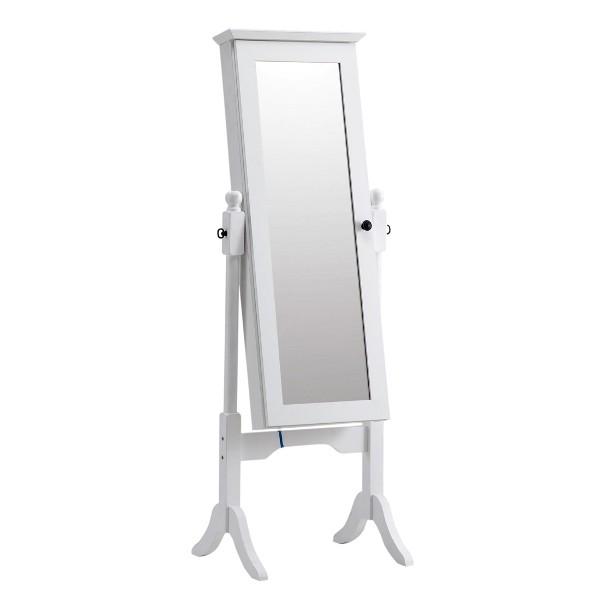Melona กระจกแบบตั้งพื้น สีขาว