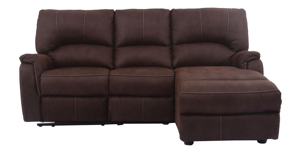 Maya เก้าอี้พักผ่อนผ้า สีน้ำตาล ขนาด 216 ซ.ม.