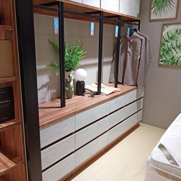 ตู้เสื้อผ้าบานเปิด ขนาด 80 ซม.  รุ่น Bricko