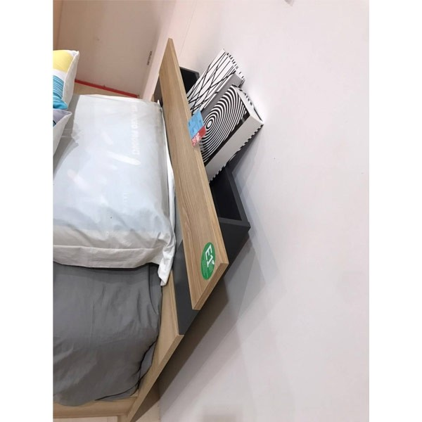 เตียง ขนาด 3.5 ฟุต รุ่น Harper