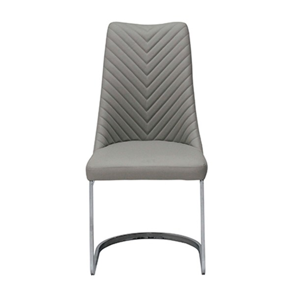 เก้าอี้เหล็กเบาะหนัง