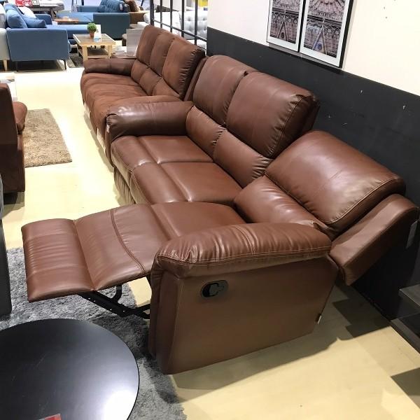 เก้าอี้พักผ่อนหนังสังเคราะห์ 3 ที่นั่ง รุ่น Soly