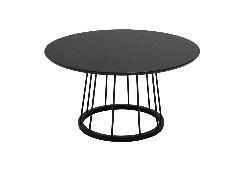 โต๊ะกลางALIFAS-C/เหล็กดำ/ดำ