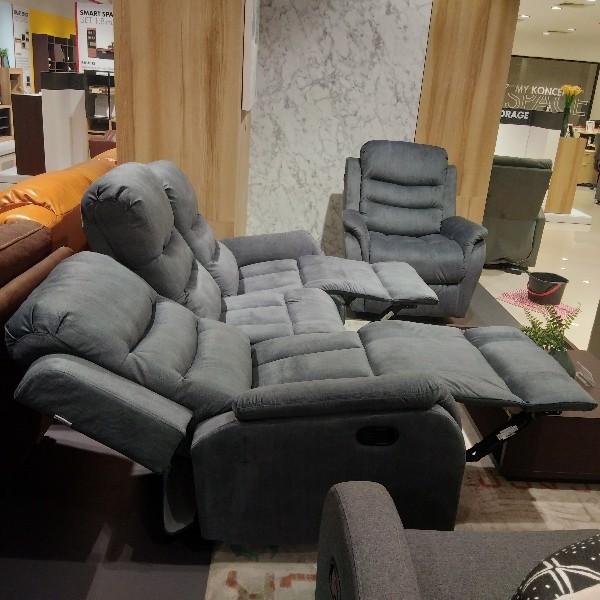 เก้าอี้พักผ่อนผ้า 3 ที่นั่ง รุ่น Zarola
