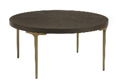 โต๊ะกลางเหล็กท๊อปหิน