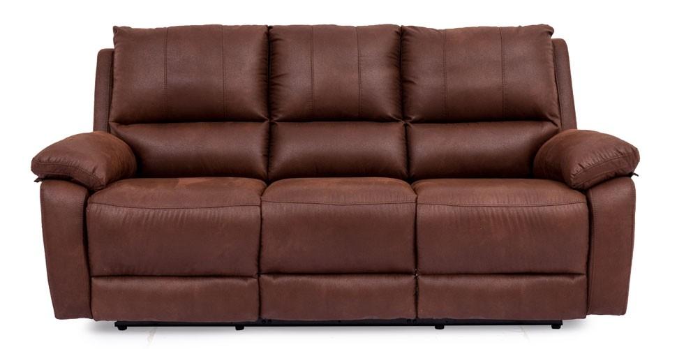 เก้าอี้พักผ่อนผ้า 3 ที่นั่ง รุ่น Mirna