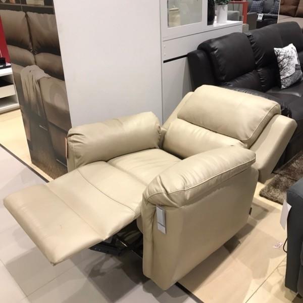 เก้าอี้พักผ่อนหนังสังเคราะห์ 1 ที่นั่ง รุ่น Soly