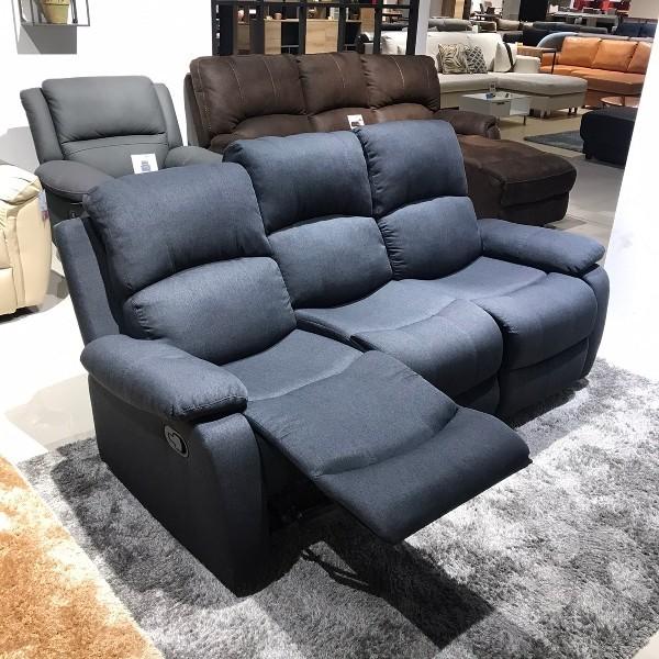 เก้าอี้พักผ่อนผ้า 3 ที่นั่ง รุ่น Mastien