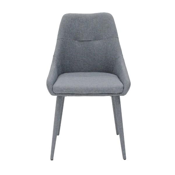 เก้าอี้ทานอาหารเก้าอี้ไม้เบาะผ้า รุ่น Lepangka