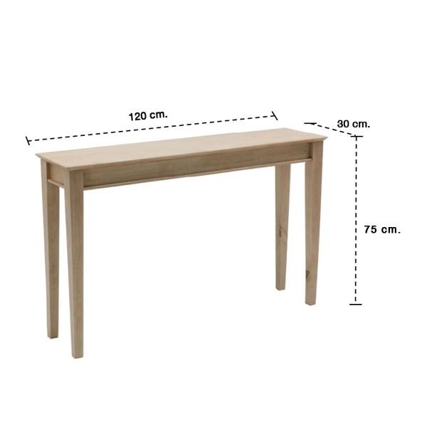 โต๊ะอาหารTERSELY-A/120*30/NATURAL