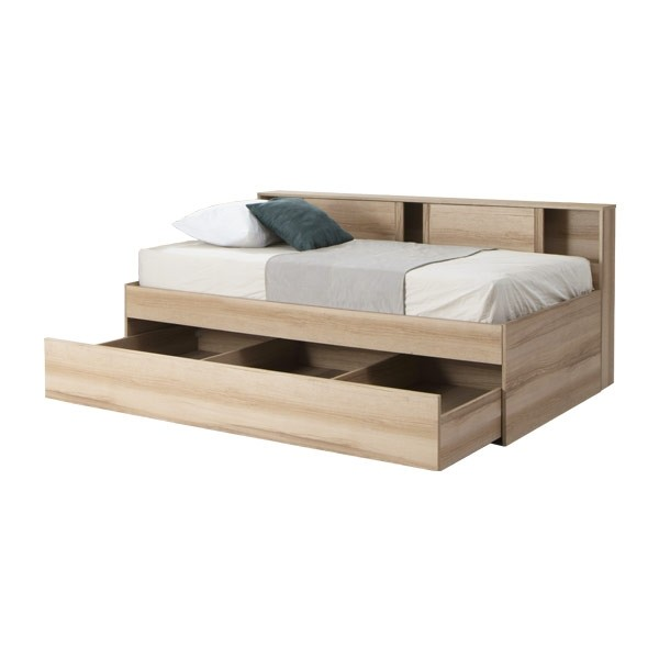 LOG/เตียงBW3.5/R/BSW/ลินด์เบิร์กโอ๊ค