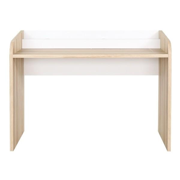 PW/FIRMO/โต๊ะทำงาน120/ขาว/ลินเบิร์กโอ๊ค