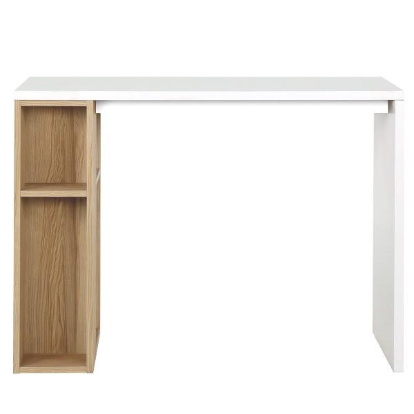 PW/FLOXI/โต๊ะทำงาน100/ขาว/ลินเบิก