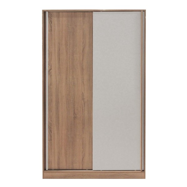 HAVIN/ตู้ผ้าWS120/โซลิคโอ๊ค/ขาว