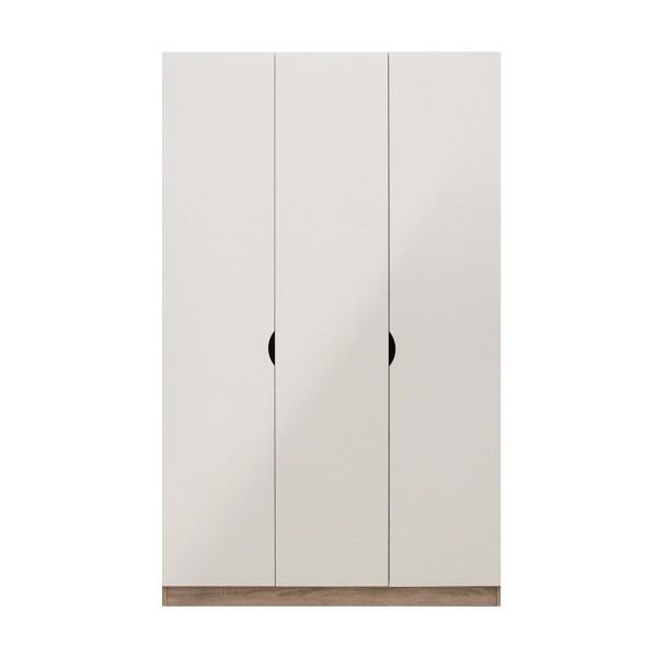PREEM/ตู้ผ้าWO120/โซลิด/ขาว