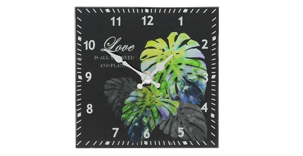 SBนาฬิกาตั้งโต๊ะ#18SV501/กระจก/ลาย/VM***