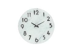 SBนาฬากาแขวนผนัง#18SV065/กระจก/ขาว/VM***