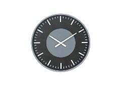 SBนาฬิกาแขวนผนัง#8Q497/โลหะ+ไม้/ดำ/MDY