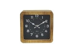 SBนาฬิกาตั้งโต๊ะ#8Q1561V/ไม้/น้ำตาล/MDY