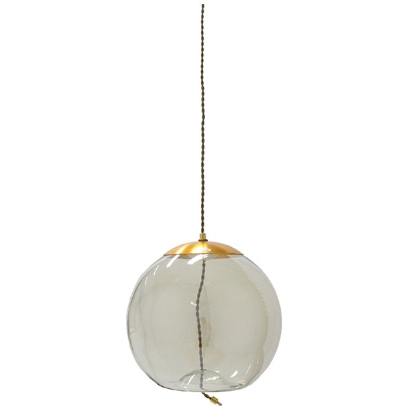 SBโคมไฟแขวน#SGL61/โลหะ+แก้ว/นต.ทอง/U2***