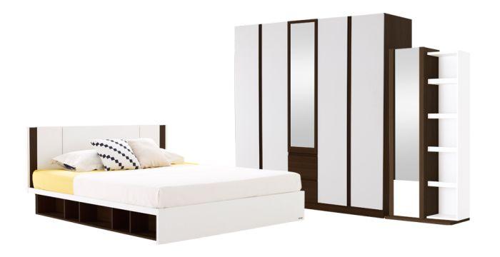 ชุดห้องนอน ขนาด 6 ฟุต รุ่น Patinal