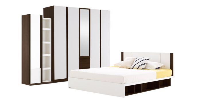 ชุดห้องนอน ขนาด 5 ฟุต รุ่น Patinal