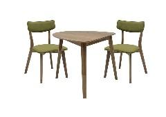 โต๊ะอาหารไม้ล้วน
