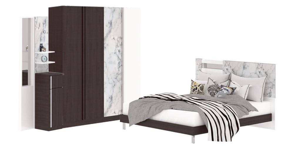 ชุดห้องนอน ขนาด 6 ฟุต รุ่น Marzera